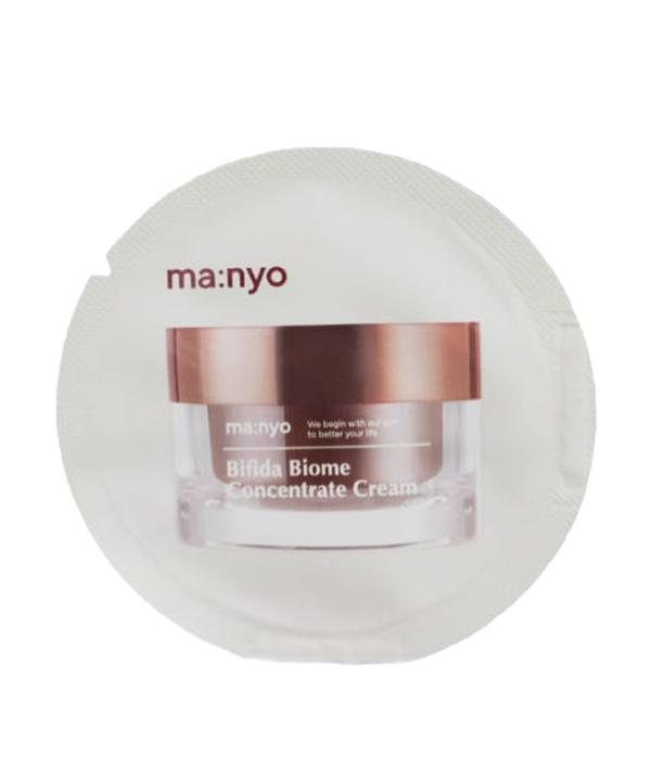 Крем для лица от морщин с пептидами и витамином Е (миниатюра) Manyo Bifida Biome Concentrate cream (1,5 ml)