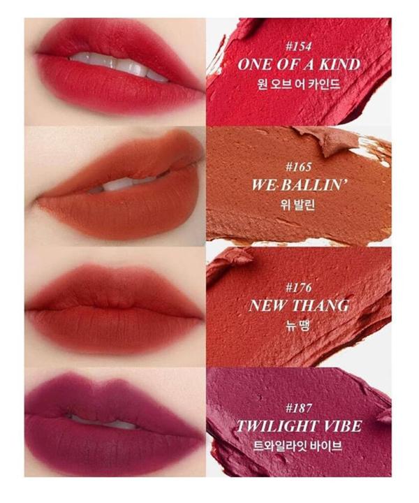 Тинт для губ бархатный Manyo No Mercy Color Vibe Velvet Tint 165 We Ballin (4g.)