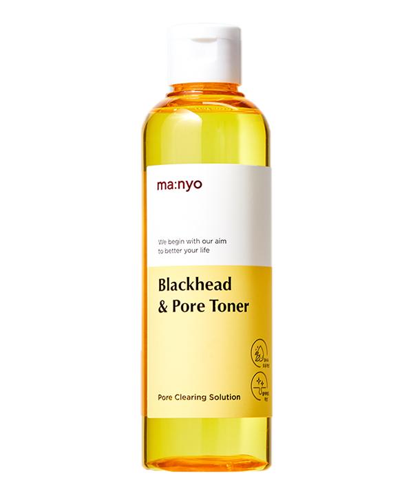 Очищающий тонер для борьбы с черными точками и ухода за порами Manyo Blackhead and pore toner (210ml)