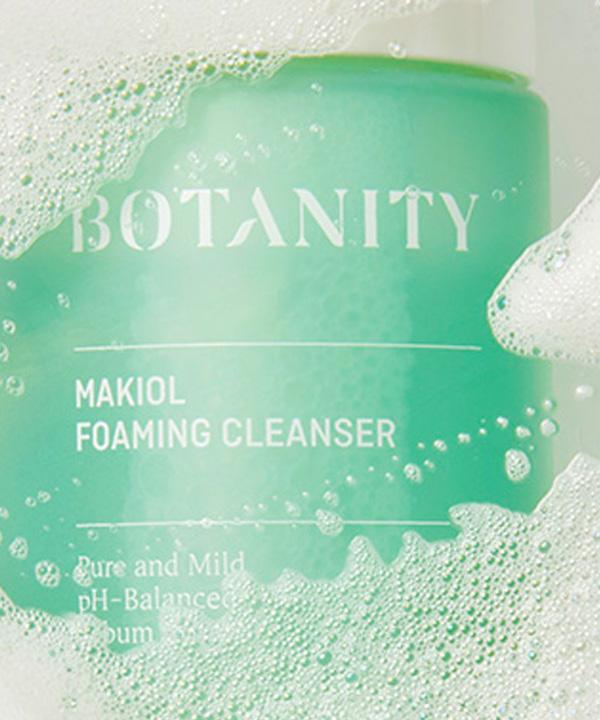Мягкая пенка для умывания Botanity Makiol Foaming Cleanser (150 ml)
