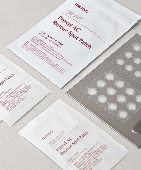 Точечные патчи против воспалений и прыщей Manyo Proxyl AC Rescue Spot Patch (42 шт)
