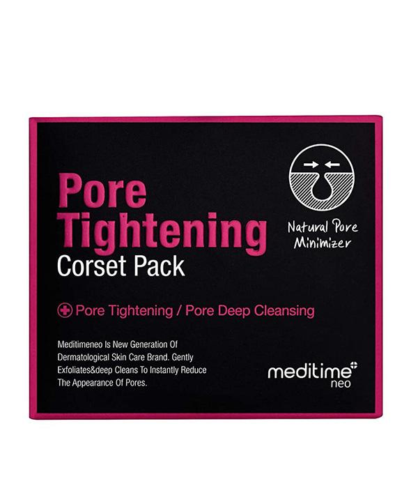 Маска для сужения пор Meditime Pore Tightening Corset Pack (120g.)
