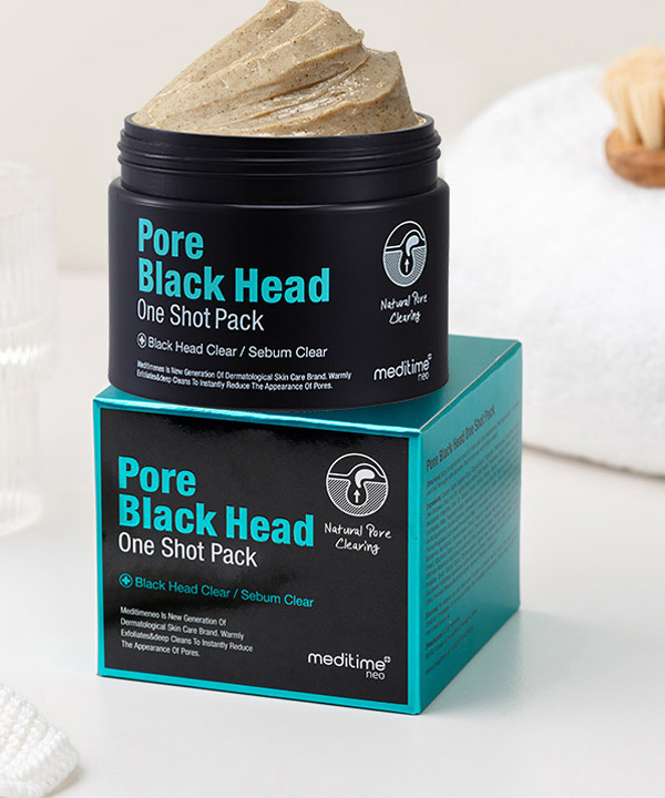 Маска от черных точек Meditime Pore Black Head One Shot Pack (120g.)