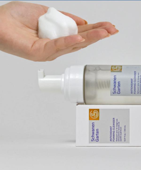 Антиоксидантная пенка для умывания Schwanen Garten Antioxidant Foaming Cleanser (150ml)