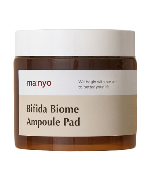 Увлажняющие пэды с бифидокомплексом Manyo Bifida Biome Ampoule Pad  (70 шт/150 ml)