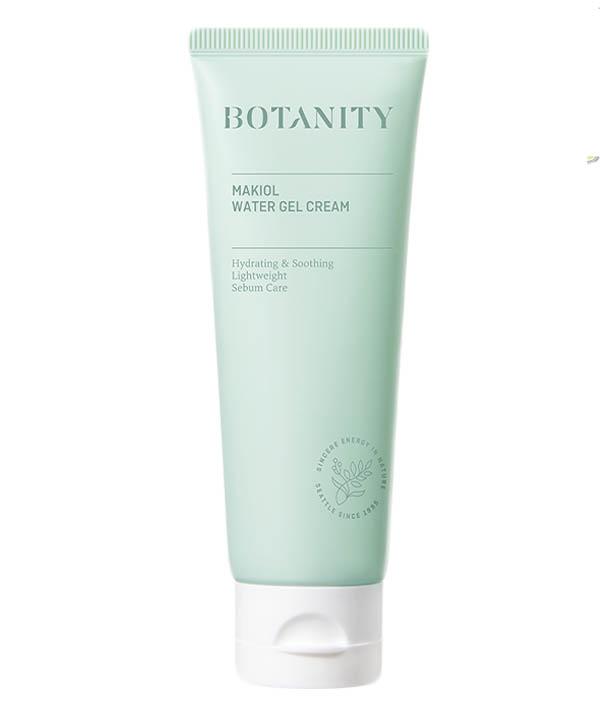 Крем гель для лица саморегулирующий Botanity Makiol Water Gel Cream (80ml)